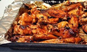 Honey Garlic Chicken Wings Turkey Farmers Of Nova Scotia